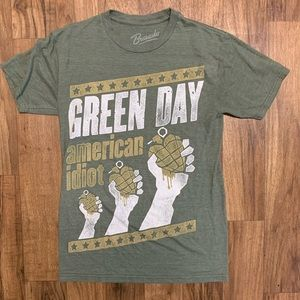 Green Day American Idiot Rock Band T-shirt Small